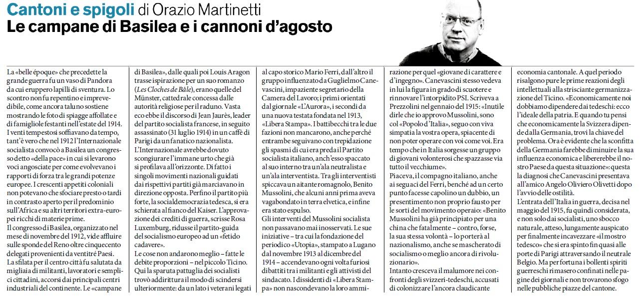 Martinetti guerra